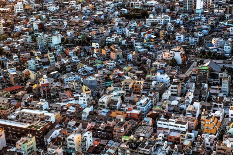 シティータワー43から見る岐阜市の街並み