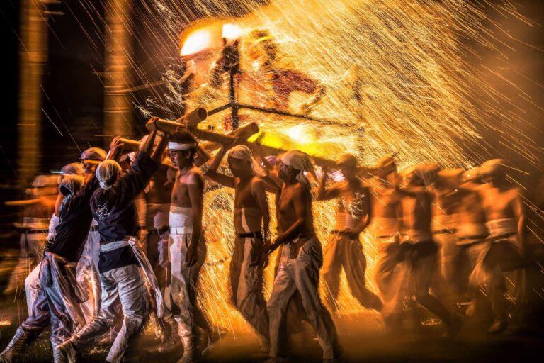 手力の火祭り・夏2