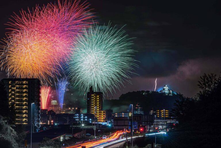 犬山ライン夏まつり納涼花火大会(愛知県)