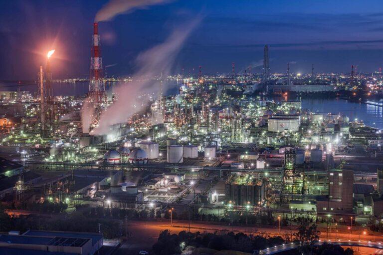 四日市工場夜景5(三重県)
