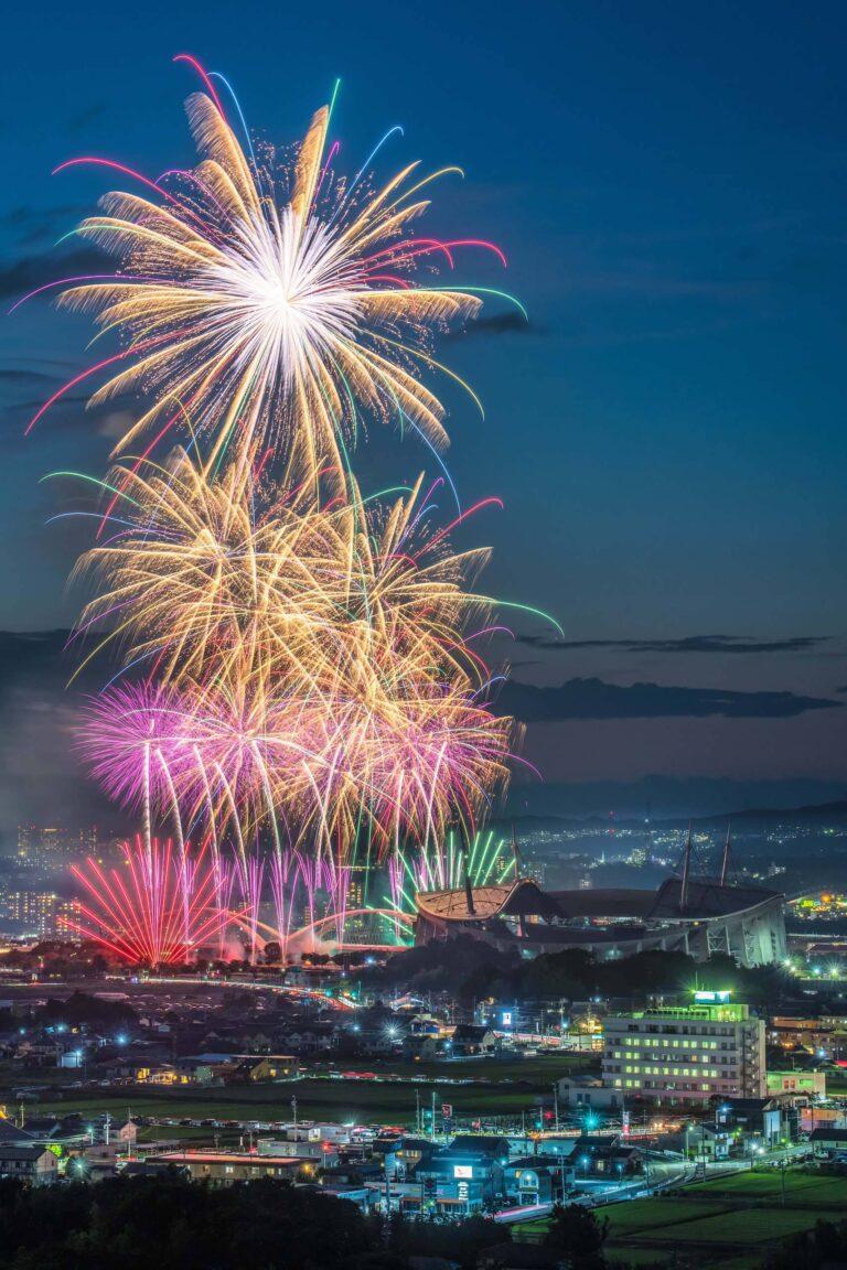 豊田おいでんまつり花火大会1(愛知県)