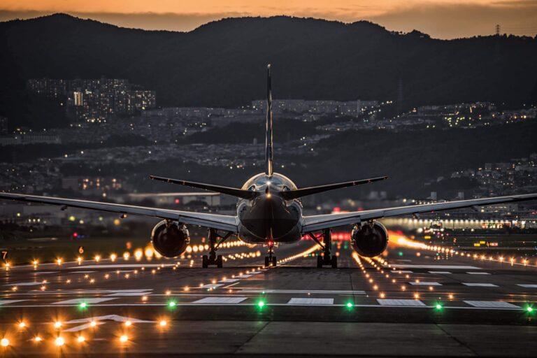 伊丹空港夜景(大阪府)