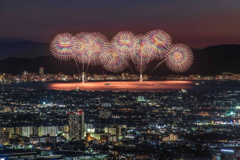 びわ湖大花火大会2(滋賀県)