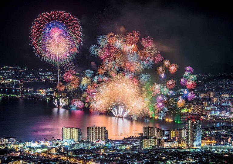 びわ湖大花火大会1(滋賀県)